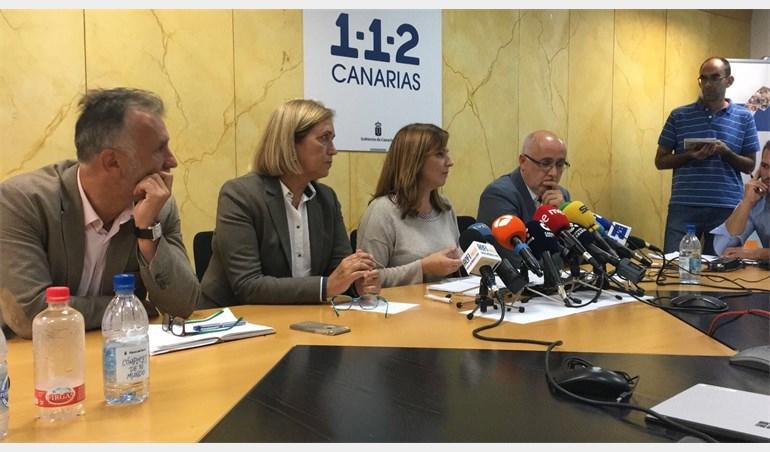 AMPL.- Aumentan a unas 2.700 las hectáreas quemadas en el fuego Gran Canaria, que continúa sin control