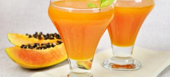 Receta AMANDIN ecológica: Smoothie de papaya