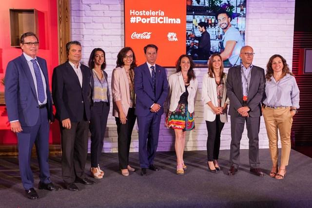 Coca-Cola ayuda a los hosteleros a reducir su huella ambiental con la plataforma #PorElClima
