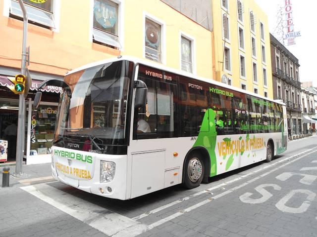 Navarra incorpora un autobús híbrido fabricado por Fotón