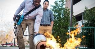 Innovador extintor que apaga incendios con sonido (ver video)