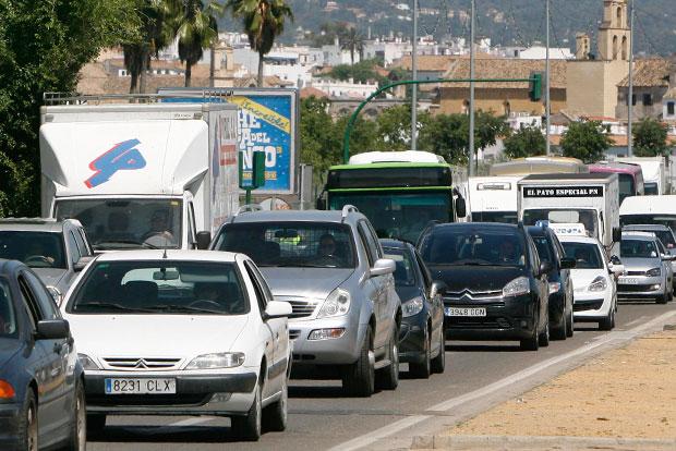 La Junta declara un incidente puntual de contaminación atmosférica por ozono en Córdoba