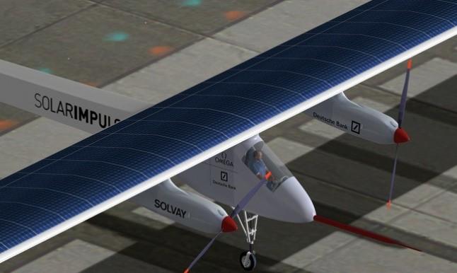 El avión 'Solar Impulse' culmina en Suiza el primer viaje intercontinental con energía solar