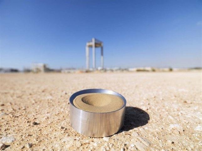 La arena del desierto de Emiratos puede almacenar energía térmica de instalaciones de energía solar concentrada