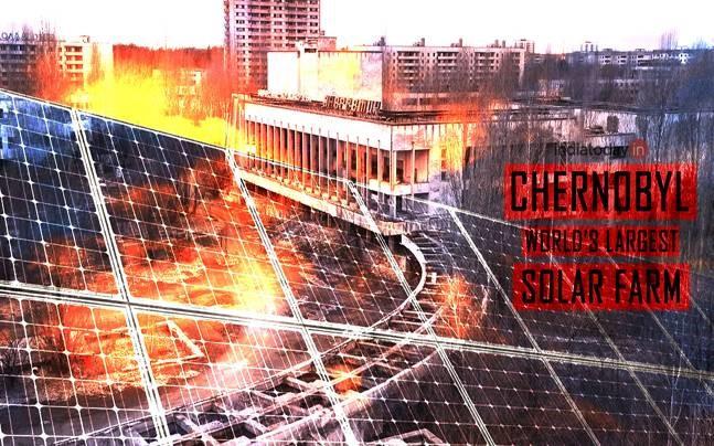 Chernobil se convertirá en fuente de energías renovables