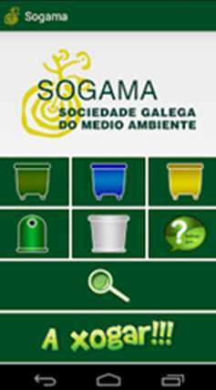 Una APP para Smarthphones creada por Sogama ayuda a los ciudadanos a separar correctamente sus residuos