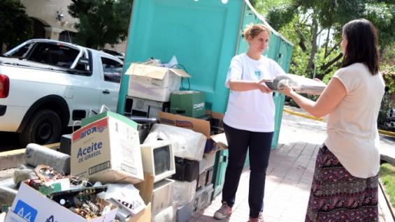 Argentina: La Ciudad de Mendoza recolectó gran cantidad de residuos electrónicos