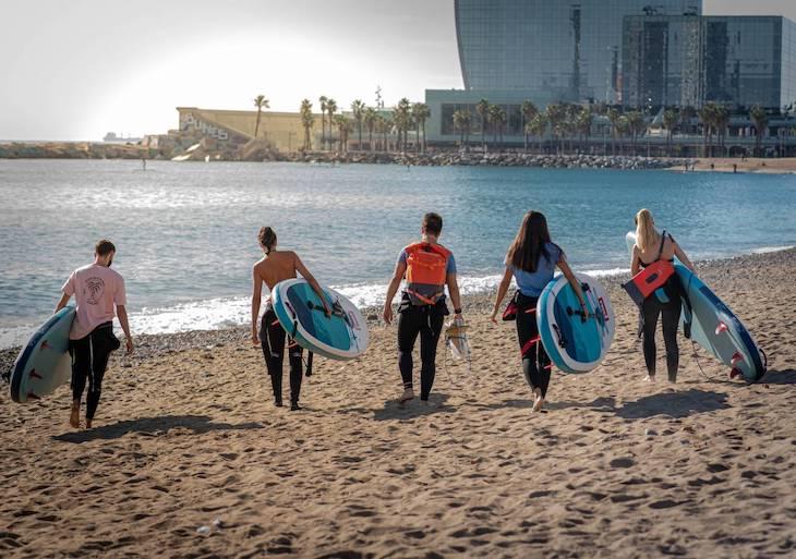 Como practicar paddel surf y ayudar a la ciencia y al medioambiente
