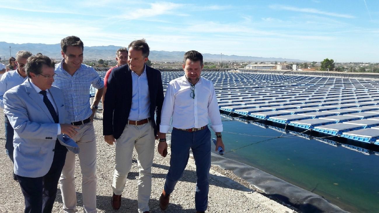 El gran flotador fotovoltaico de la ciudad de Lorca