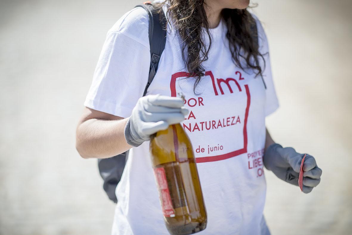 '1 m2 por la naturaleza' recoge más de 30 toneladas de basura de los espacios naturales de España