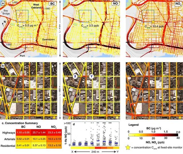 Recurren a Google Street Wiew para medir la contaminación calle a calle