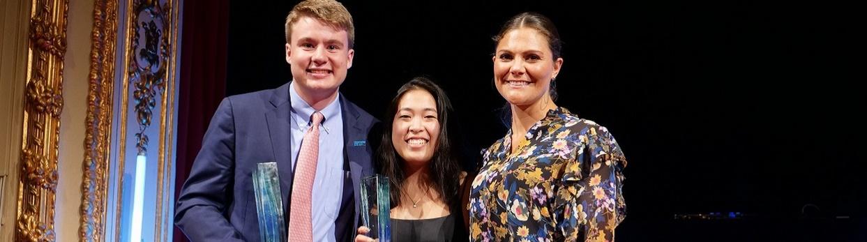 Dos alumnos de EEUU ganan la 21ª edición del Stockholm Junior Water Prize