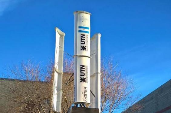 Argentina. Desarrollan un prototipo de aerogenerador eólico para zonas rurales