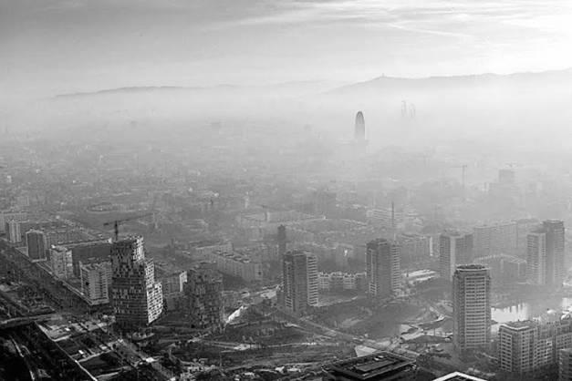 Barcelona incumple de nuevo los límites de contaminación en 2012
