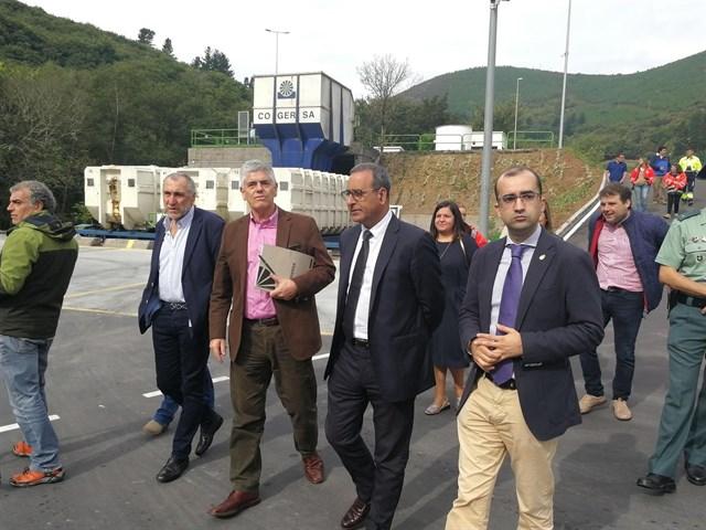 El Principado pone en servicio el nuevo punto limpio de Cangas del Narcea, con una inversión de 226.870 euros
