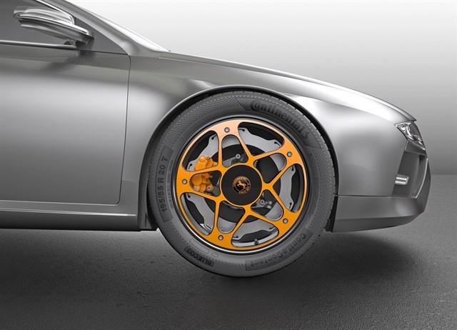 'New Wheel', nuevo concepto de frenado de Continental para los vehículos eléctricos