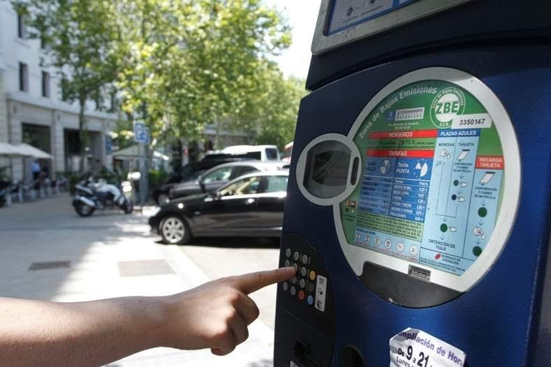 Mañana miércoles continúa la prohibición de aparcar en la zona SER para los no residentes en Madrid