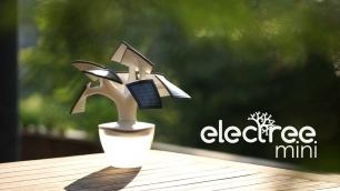 Electree Mini, un novedoso cargador solar