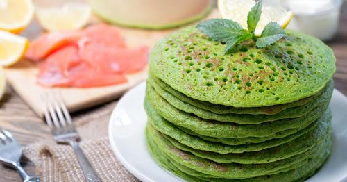 Recetas Ecológicas: Tortitas verdes