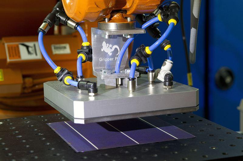 Innovadora técnica repara células solares defectuosas mediante láser