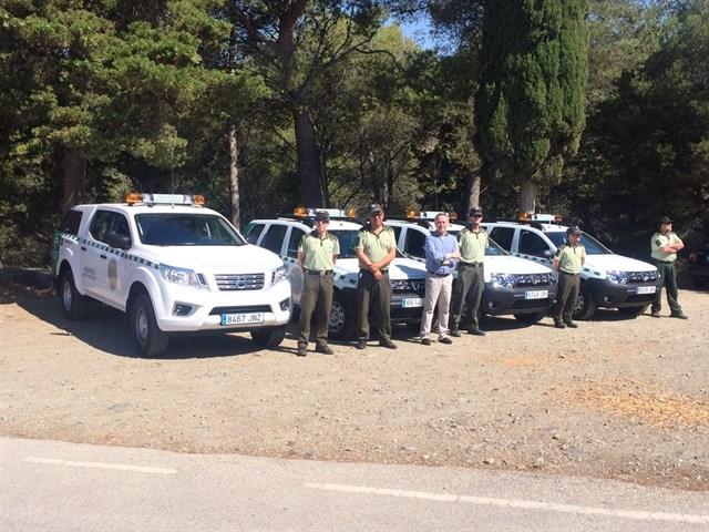 Andalucía, Medio Ambiente incorpora cuatro vehículos para vigilancia del patrimonio natural