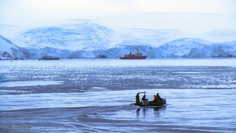 La expedición del proyecto Glackma al Hemisferio Sur confirma el creciente deshielo