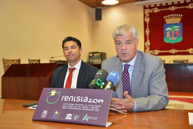 El Hierro prepara una conferencia internacional sobre energías renovables