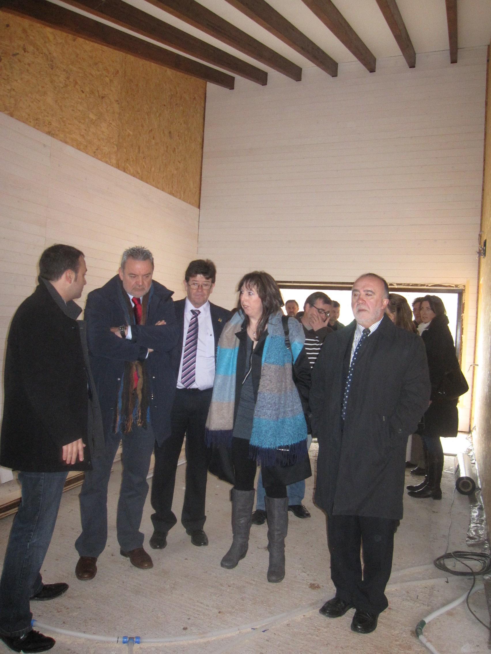 Boné subraya la apuesta del Departamento de Medio Ambiente por la comarca de Cuencas Mineras