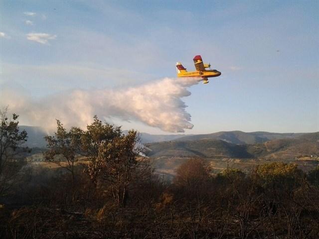 Entra en vigor la prohibición de hacer fuego y quemar restos vegetales en el medio rural hasta el día 31