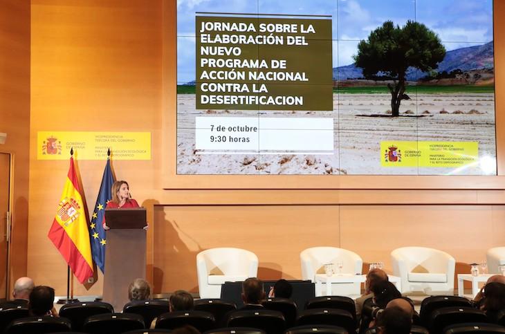 Combatiendo la desertificación en España