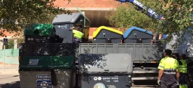 Emaya inicia la segunda fase de renovación de contenedores