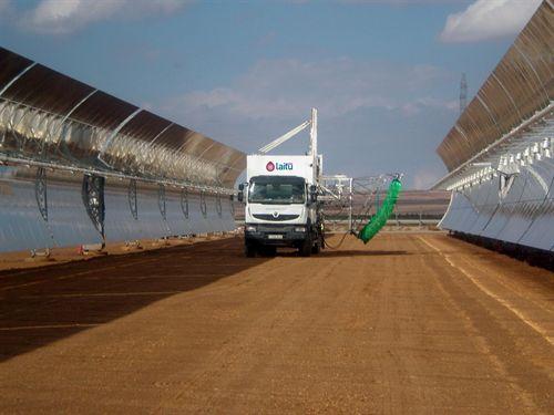 Laitu Solar (Iturri), dedicada al mantenimiento de termosolares, prevé facturar 2,5 millones y salir a EEUU