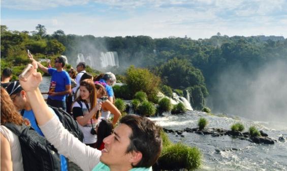 Argentina. Récord de visitas en Cataratas del Iguazú durante el Viernes Santo