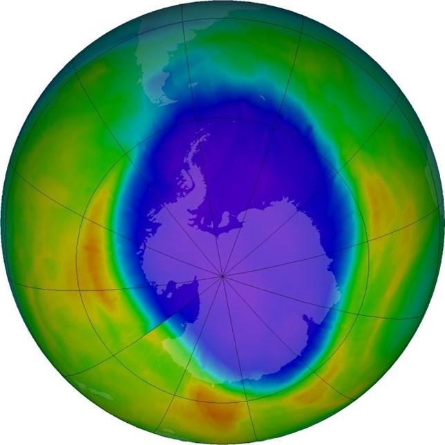 Temperaturas más altas reducen un 19% el agujero de la capa de ozono