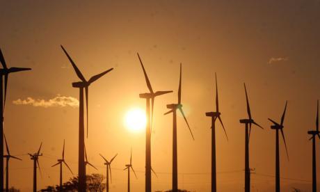 Record. La energía eólica cubre el 60% de la demanda en un día