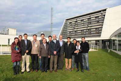 La empresa china Tianren y MSTechno en el Centro Nacional de Energías Renovables (CENER)