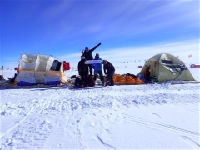 La expedición Trineo de Viento en Groenlandia culmina tras recorrer 1.200 kilómetros y recoger datos científicos