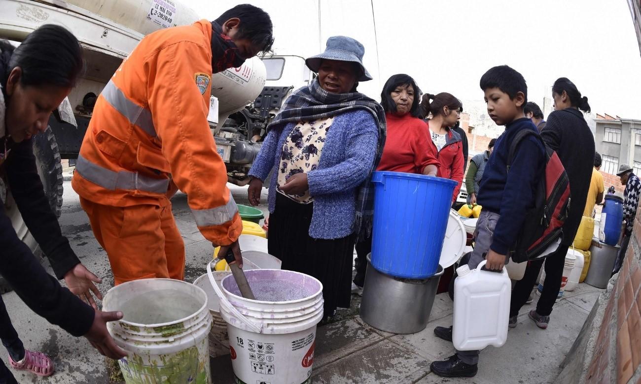 Bolivia sigue con sus graves dificultades con el agua