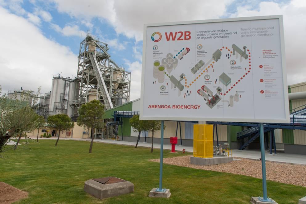 Abengoa inaugura la primera planta de demostración con tecnología 'Waste to Biofuels' (W2B)