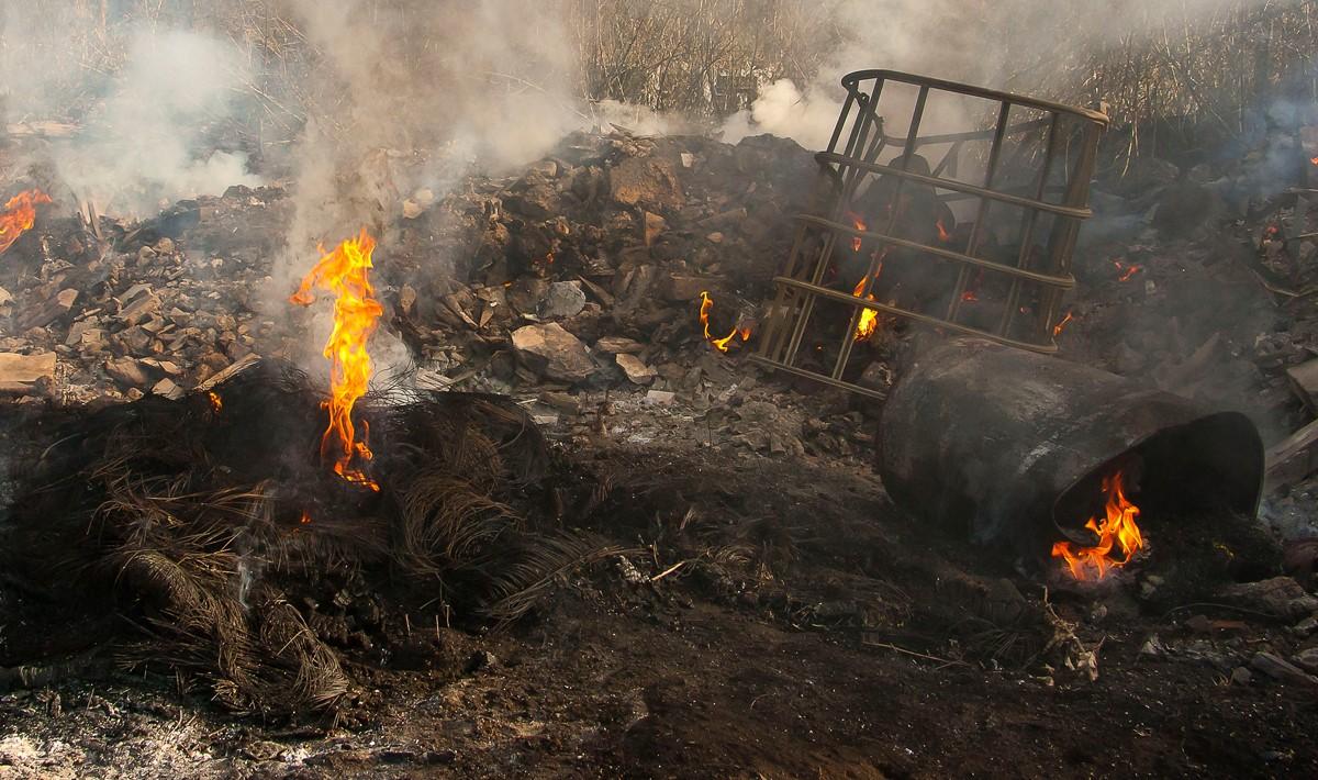 La contaminación sigue matando niños italianos
