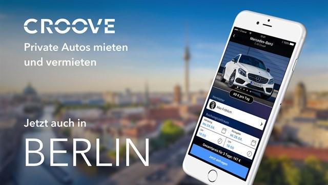 Croove, nueva plataforma de 'car sharing' entre particulares