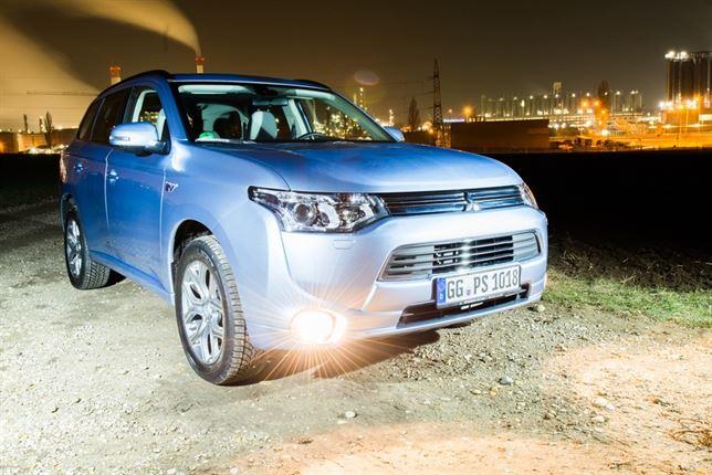 Mitsubishi Outlander PHEV, el coche que puede suministrar energía a un hogar
