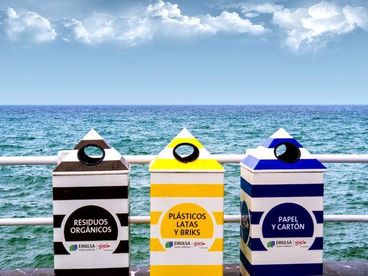 En la playa reciclamos muy MAL