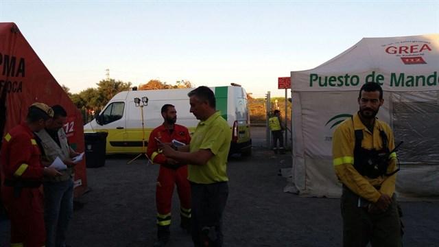 La población evacuada podrá volver a lo largo del día a sus casas y la vía Almonte-Matalascañas está abierta