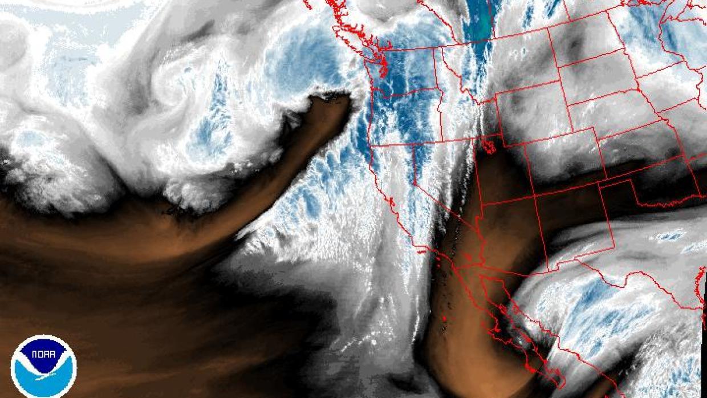 Estados Unidos. Lluvias brutales al sur de California este viernes