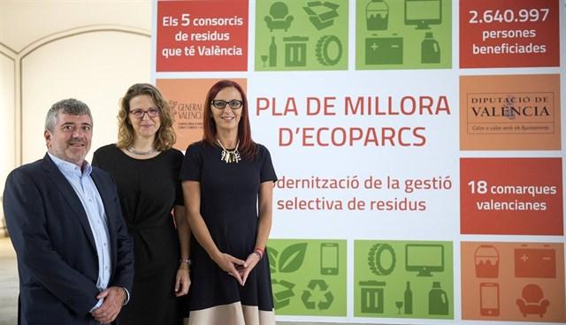 El Plan de Mejora de Ecoparques valencianos contempla una inversión de 2,5 millones de euros e incentivos a usuarios