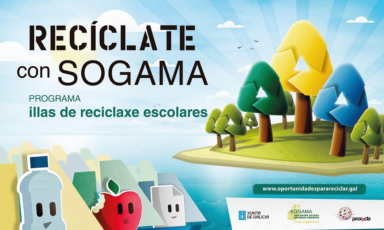 """""""Recíclate con Sogama"""" contó con la participación de cerca de 15.000 alumnos durante sus cinco ediciones"""