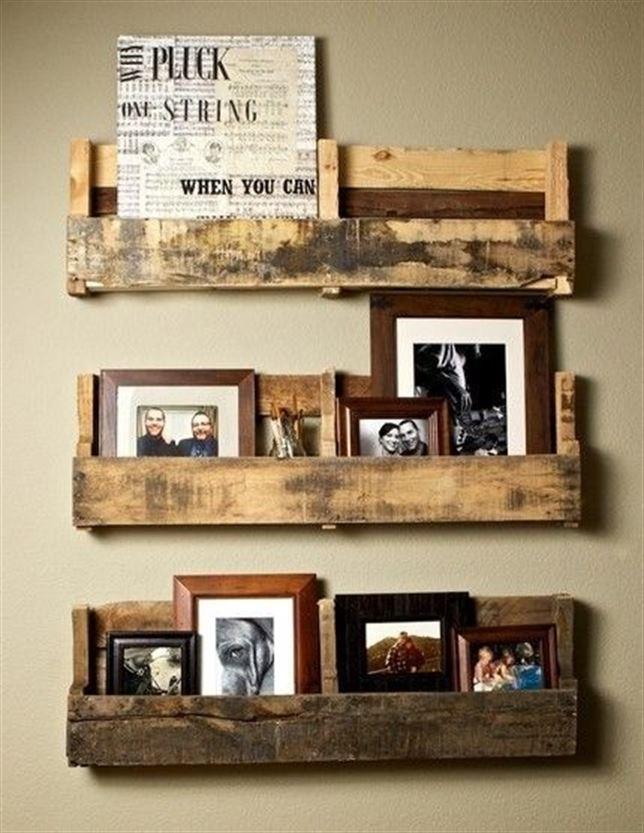 Un palet, un mueble, vea todas las ideas…