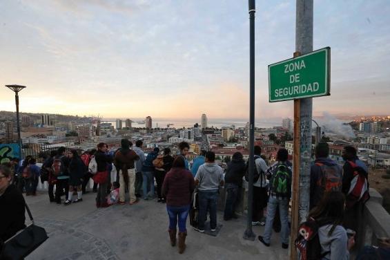 Chile. Un fuerte sismo de 6.9° sacudió la costa de Valparaíso