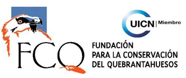 Comunicado de Prensa Fundación para la Conservación del Quebrantahuesos